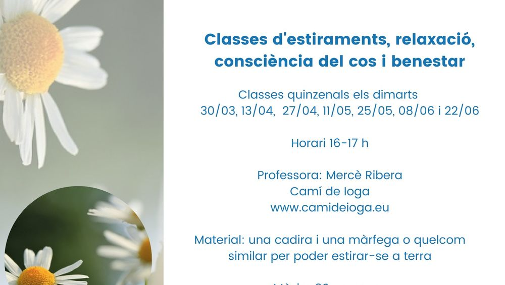 Classes d'estiraments